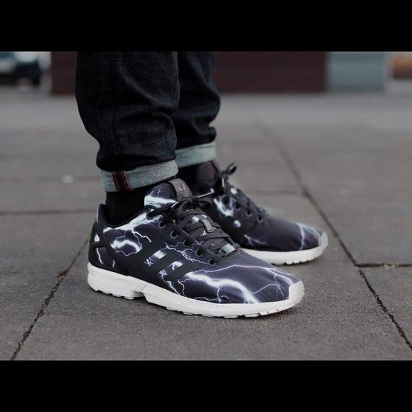 ADIDAS Torsion ZX Flux Lightning Bolt Sneakers